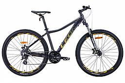 """Велосипед 27.5"""" Leon XC-LADY 2020 (антрацитовый с золотым (м))"""