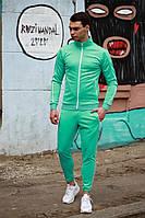 Мужской спортивный костюм Двойка (бирюзовый), фото 1