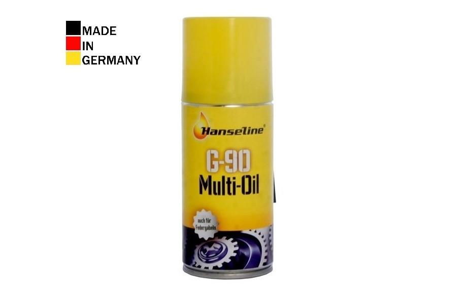 Спрей-масло HANSELINE G-90 Multi-Oil Spray (аналог WD-40) универсальное 150ml
