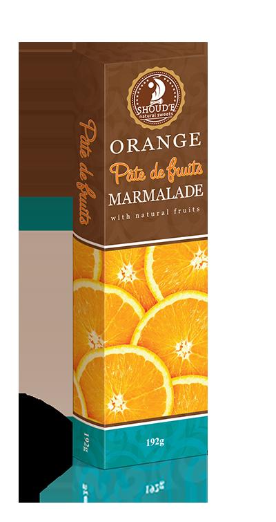 Мармелад Апельсин Pate de Fruits 192 г