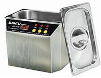 Ультразвуковая  ванна  BAKKU  BK3550 Два режима работы (30W и 50W), металлический корпус, металлическая крышка
