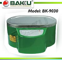 Ультразвуковая  ванна  BAKKU  BK9030 Один режим работы (30W), металлический корпус, металлическая крышка