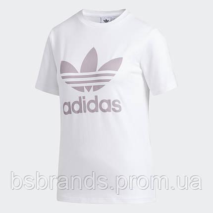 Женская футболка adidas Trefoil FJ9454, фото 2