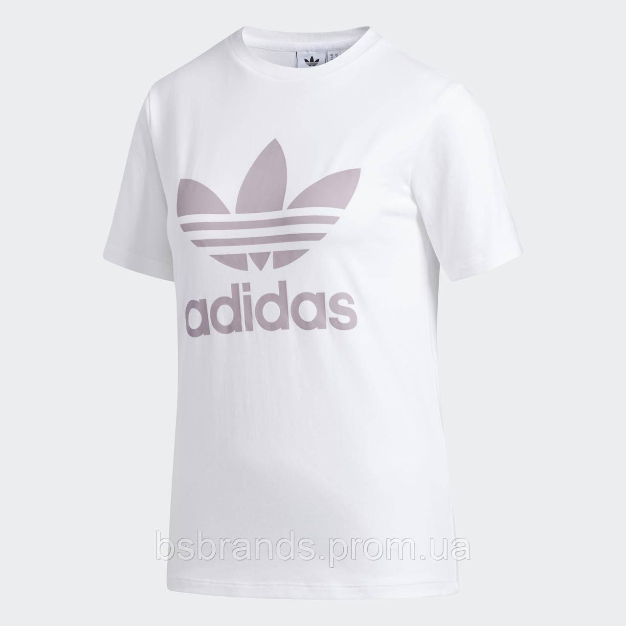 Женская футболка adidas Trefoil FJ9454