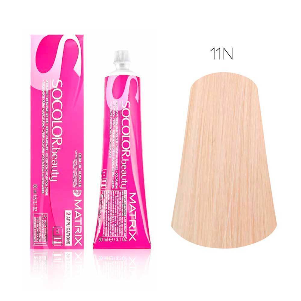Купить Стойкая краска для волос Matrix SOCOLOR.beauty 11N, Matrix Professional