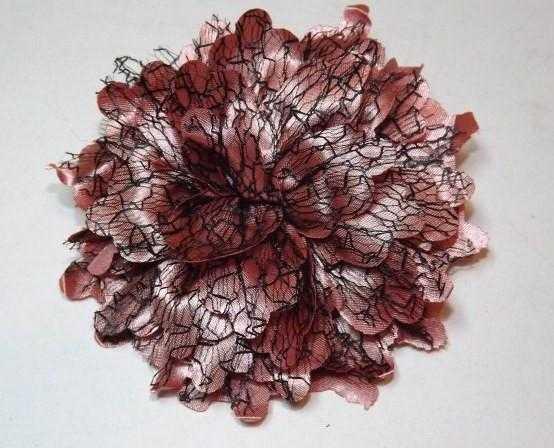 Шпильки для волосся качечки, коралово-рожевий 144_5_2a6