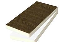 Сендвіч-панель КТМ 40х1310х3000 (1,5мм /1,5мм) горіх - двохстороння