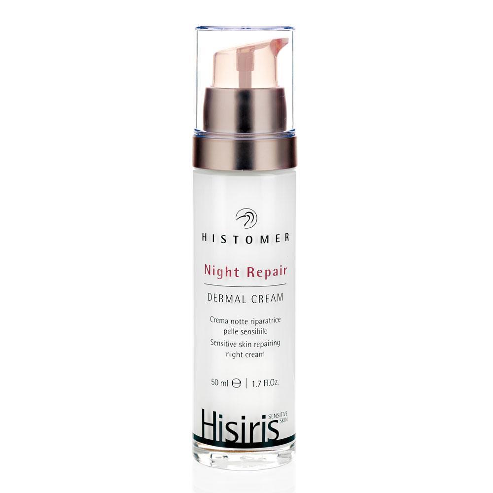 Нічний відновлюючий крем для чутливої шкіри Histomer HISIRIS Night Repair Dermal Cream