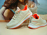 Кроссовки женские BaaS Runners бежевые 37 р., фото 5