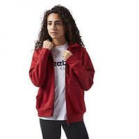 Женская кофта Reebok Hoody Fleece Zip-Up CD8217, фото 1