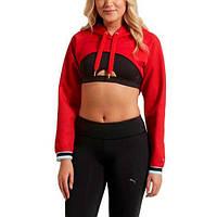 Женская укороченная толстовка Puma Varsity Cover Up 51706903, фото 1