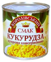 Кукурудза цукр.з цілих зерен м/б 425 гр