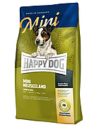 Mini Neuseeland 4 кг Корм для взрослых собак малых пород Cупер-премиум класс (60115, Happy Dog, Хэппи Дог)