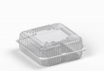 Коробка пластиковая 2900 мл IT-410 (В / Р 19 * 19см, с / Р 21 * 21см, высота 4,2 * 4,2 = 8,4см) 200 шт. / Ящ
