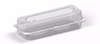 Коробка пластиковая 2450 мл IT-651 (В / Р 10 * 29см, с / Р 12,5 * 32,2см, высота 4 * 4 = 8 см) 300шт. / Ящ
