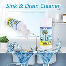 Мощный очиститель для мойки и слива WILD Tornado Sink & Drain Cleaner, фото 3