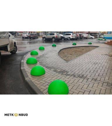 Полусфера бетонная 600х320 мм, фото 2