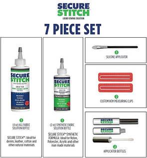 Универсальный набор клеев для ткани Secure Stitch, фото 2
