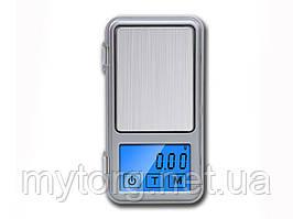 Профессиональные электронные мини весы ACCT- 1308 (до 100гр) с сенсорными кнопками.