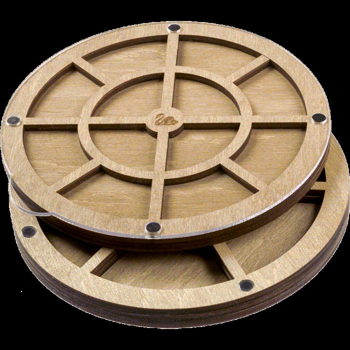 Органайзер для бисера многоярусный с крышкой FLZB-086