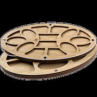 Органайзер для бисера многоярусный с крышкой FLZB-087