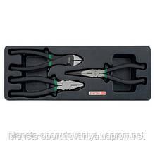 Набор шарнирно-губцевого инструмента 3ед. (в ложементе) TOPTUL GBAT0304
