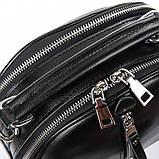 Сумка Женская Клатч кожа ALEX RAI 06-1 339 black, фото 2