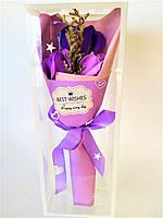 Мыло Букет, цвет фиолетовый