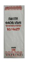 Вишивка Пакет фасовка 10х27 (600) 10уп/міш
