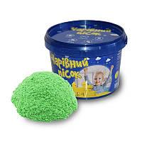 Песок Strateg зеленого цвета, ведро 0,5 кг SKL11-237329