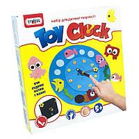 Часы из фетра Strateg Toy clock Водний світ на украинском SKL11-237458