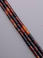 Заготовка для бус и браслетов нить из натурального камня Сердолик 40 см  сертификаты на камни