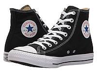 Кроссовки/Кеды (Оригинал) Converse Chuck Taylor® All Star® Core Hi Black, фото 1