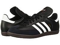 Кроссовки/Кеды (Оригинал) adidas Samba® Classic Black/White, фото 1