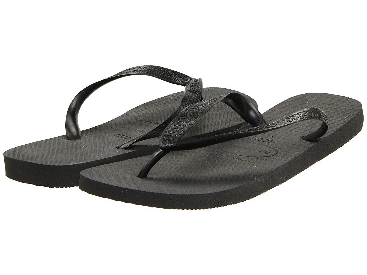 Сандали/Вьетнамки (Оригинал) Havaianas Top Flip Flops Black