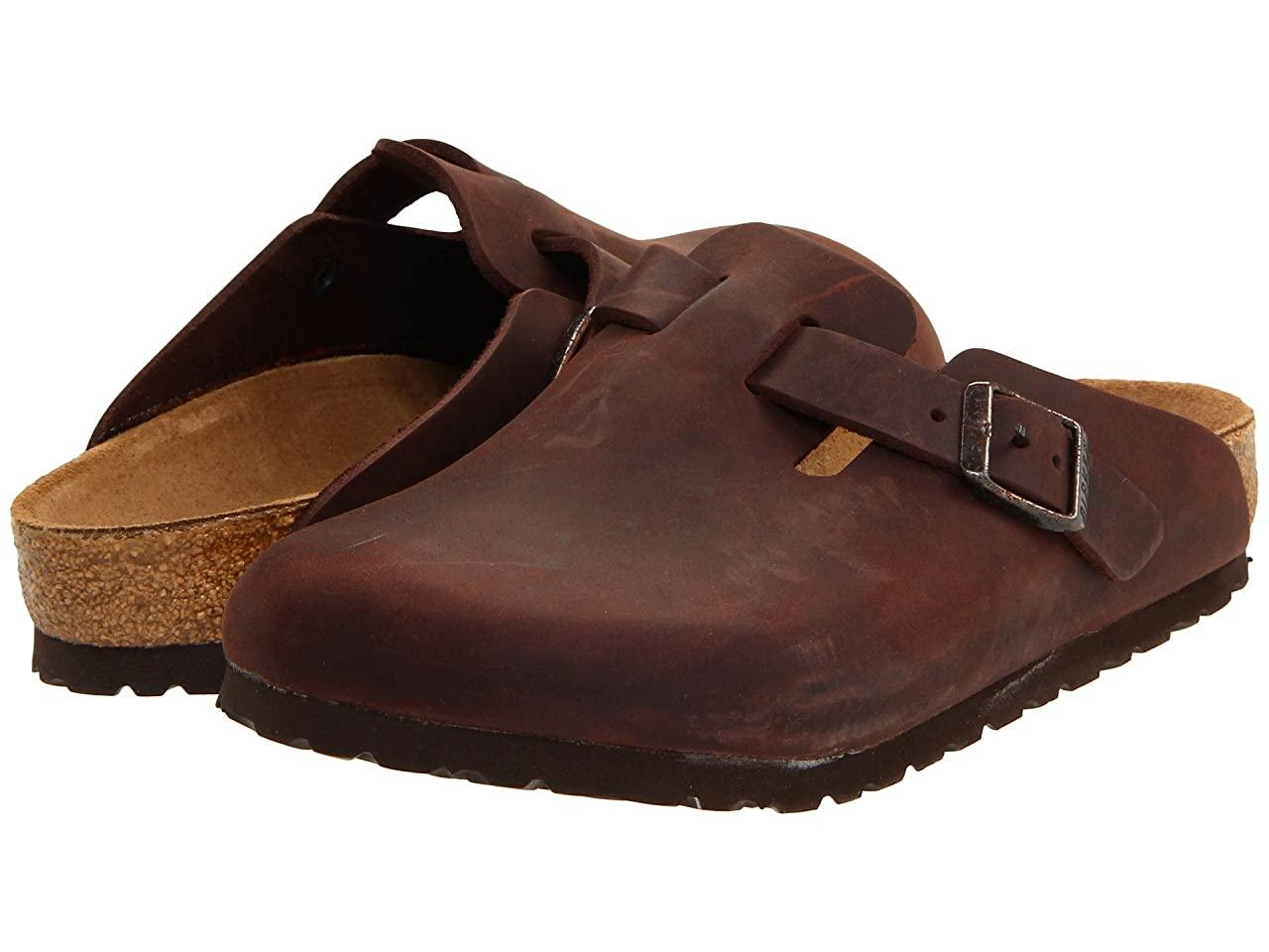 Сабо (Оригинал) Birkenstock Boston - Oiled Leather (Unisex) Habana Oiled Leather