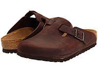 Сабо (Оригинал) Birkenstock Boston - Oiled Leather (Unisex) Habana Oiled Leather, фото 1