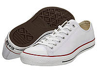 Кроссовки/Кеды (Оригинал) Converse Chuck Taylor® All Star® Leather Ox White/Leather