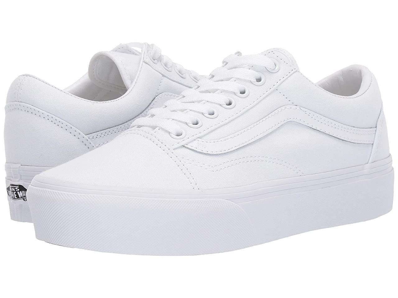 Кроссовки/Кеды (Оригинал) Vans Old Skool Platform True White