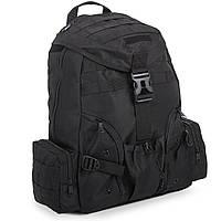Рюкзак тактический трехдневный Silver Knight 30 литров c USB входом (нейлон, оксфорд, размер 45х40х13см) PZ-TY-03