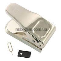 Ножницы для обрезки SiM Ножницы для обрезки 2х сим карт Micro sim cutter DLBT iPhone 4/5