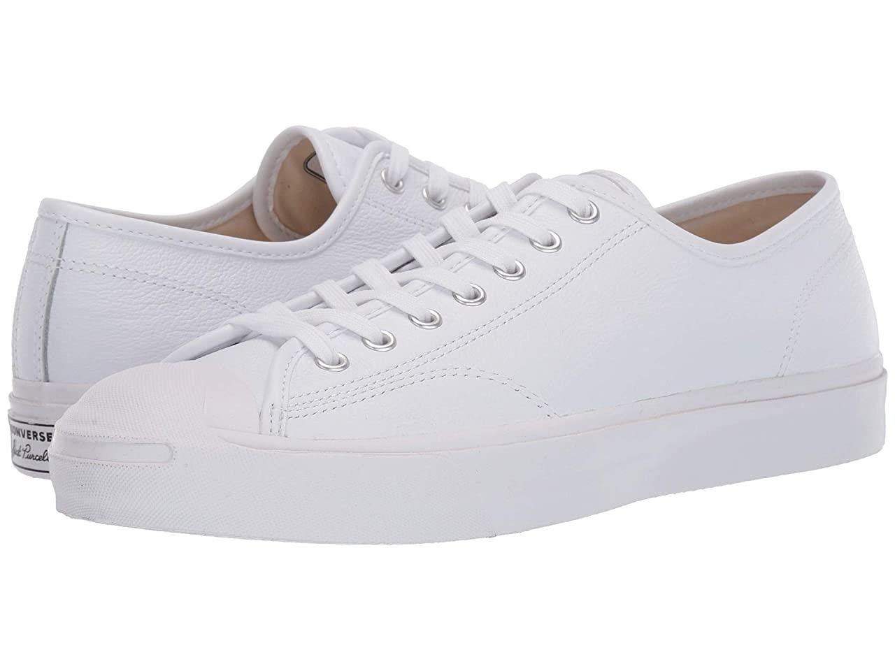 Кроссовки/Кеды (Оригинал) Converse Jack Purcell Gold Standard Leather White/White/White