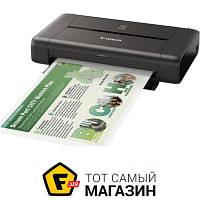 Принтер портативный Pixma iP110 с аккумулятором (9596B029) a4 (21 x 29.7 см) - струйная печать (цветная)