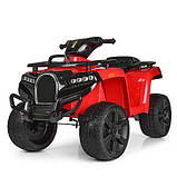 Детский квадроцикл Bambi ZP5138E-3 красный, фото 5