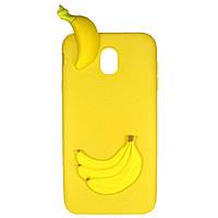 Чехол Cartoon 3D Case для Samsung J330 Galaxy J3 2017 Бананы