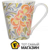 Кружка Continenta для чая 450 — 1 шт. — фарфор цвет белый можно мыть в посудомоечной машине, подходит для микроволновой печи