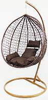 Підвісне крісло-гойдалка кокон B-183B (коричневе) (46000004)