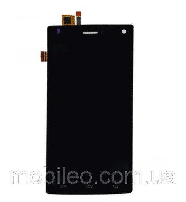 Дисплей (LCD) Fly FS452 Nimbus 2 с тачскрином, чёрный, оригинал (PRC)
