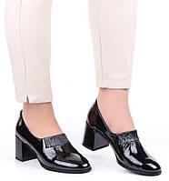 Женские туфли на каблуке Geronea 19849, Черный, 37, 2999860273601