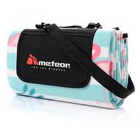 Коврик для пикника и пляжа водонепроницаемый Meteor Flamingo 120х135 см (m0054)